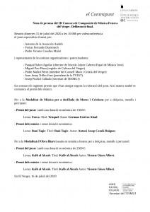 Nota premsaPremis III Concursv2